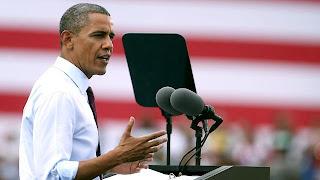 Barack Obama President Of America in white shirt