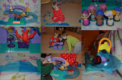 PicMonkey+Collage2 Fisher Price Bubble Guppies toy line