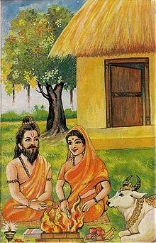 valmiki biography in sanskrit