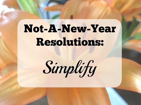 Not-A-New-Year Resolutions