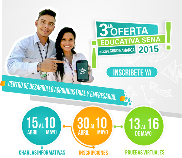 Tercera Oferta educativa SENA 2015