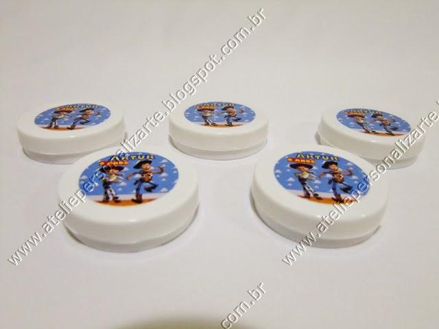 Lembrancinhas Personalizadas Toy Story Latinhas