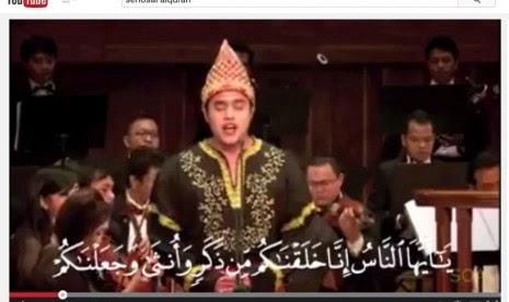 Setelah Langgam Jawa, Tinggal Tilawah Alquran versi Seriosa Bikin Heboh
