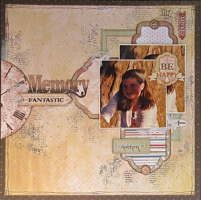 Fantastic Memory Layout 3 Ways by Megan Gourlay for BoBunny using Provence