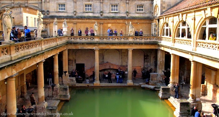 Roman Baths - Bath, England