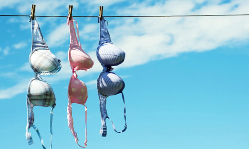 bra hanging