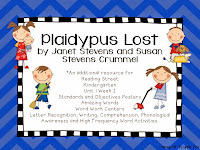 https://www.teacherspayteachers.com/Product/Plaidypus-Lost-Kindergarten-Unit-1-Week-3-1238629