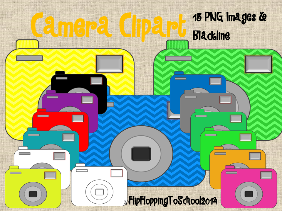 http://www.teacherspayteachers.com/Product/Camera-Clipart-for-Personal-and-Commercial-Use-1313503