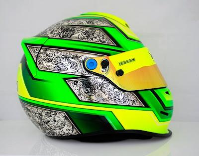Racing Helmets Garage: Bell RS3 U.Kokmann by Tribilia Design