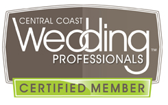 Central Coast Wedding Professionals - CCWP - Studio 101 West Marketing and Design