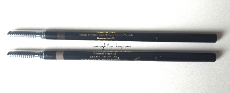 matite sopracciglia beautiful color natural eye brow pencil elizabeth arden