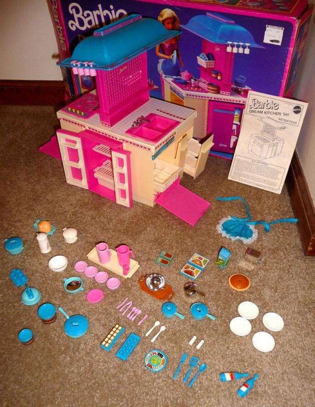 te lo ricordi mica...: la cucina dei sogni - barbie - Giochi Di Cucina Di Barbie