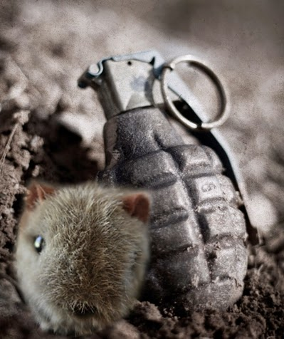 Shane with Grenade