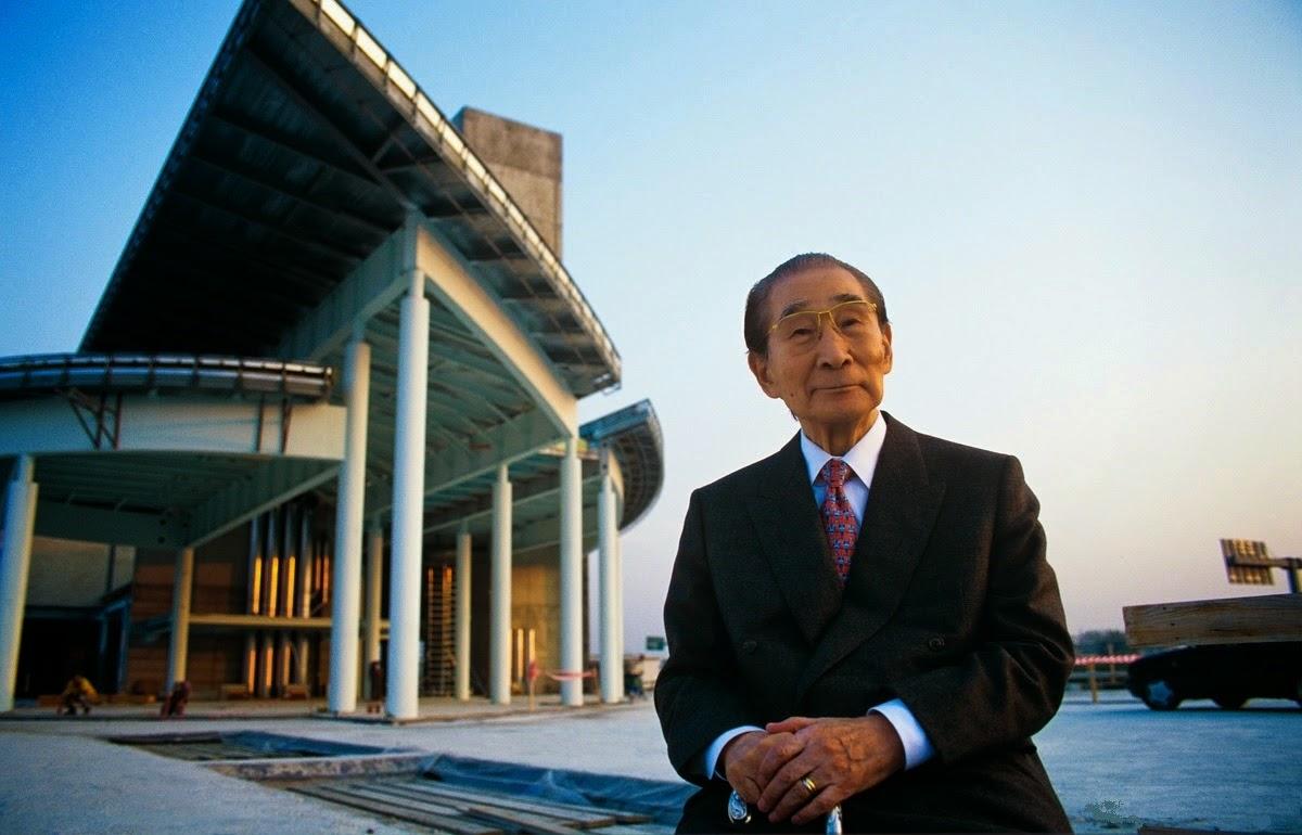 Di qua e di la kenzo tange architetto e urbanista for Architetto giapponese