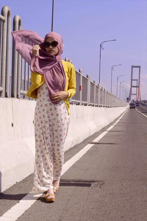 Hijab Street Style Fashion Hijab 2014