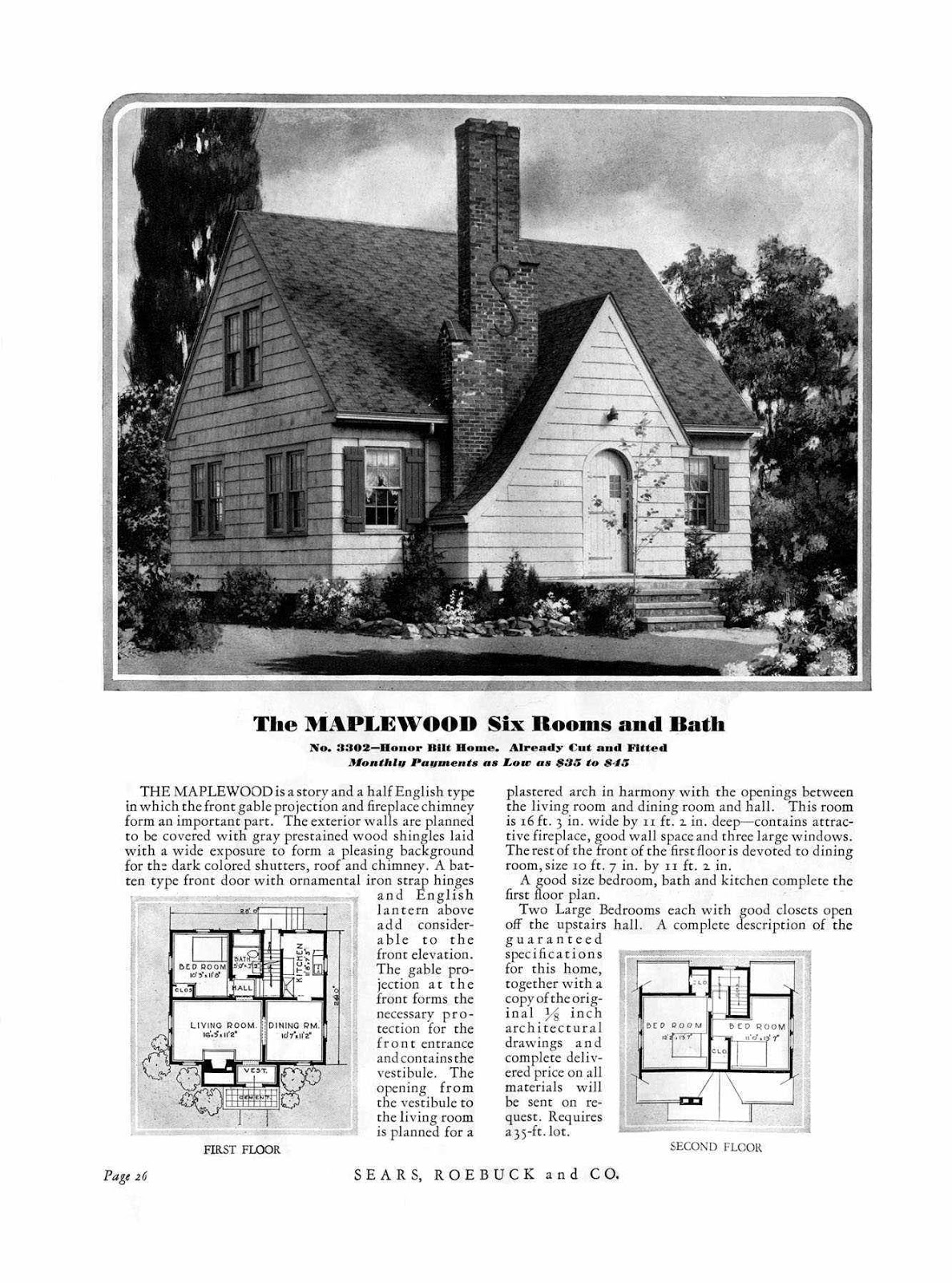 Kit house hunters sears houses of ferndale michigan for House catalogs