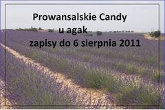 Wygrałam Prowansalskie candy u Agak
