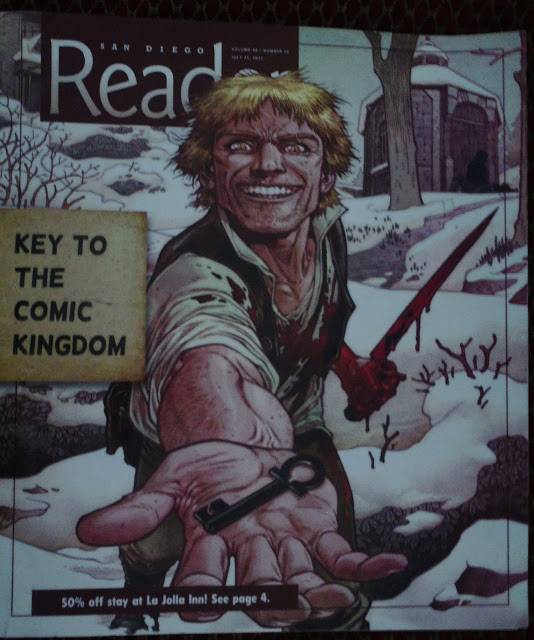 KEY TO COMIC KINGDOM