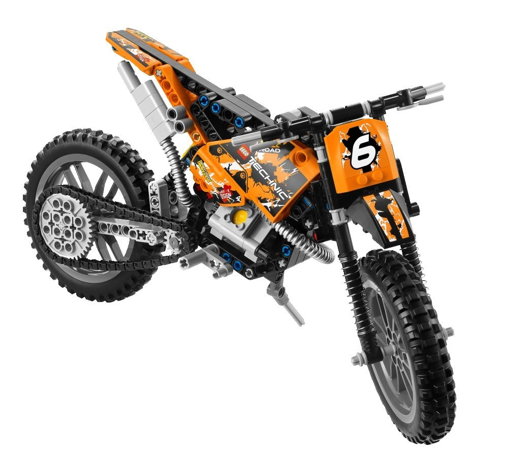lego technic moto cross bike 42007 my lego style. Black Bedroom Furniture Sets. Home Design Ideas