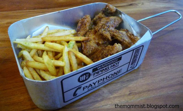 4 Fingers Crispy Chicken Stainless Steel Container