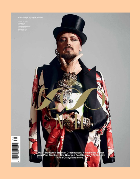 Boy George by Bryan Adams for Zoo Magazine No.41 Winter 2013