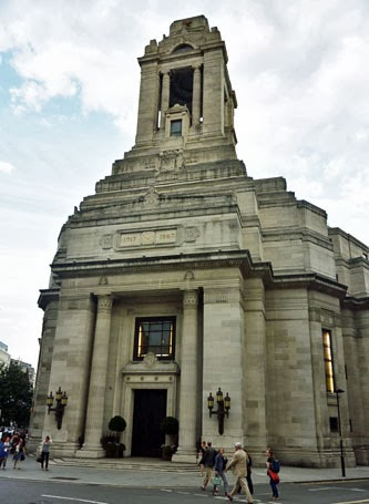 Freemasons Hall London, UK