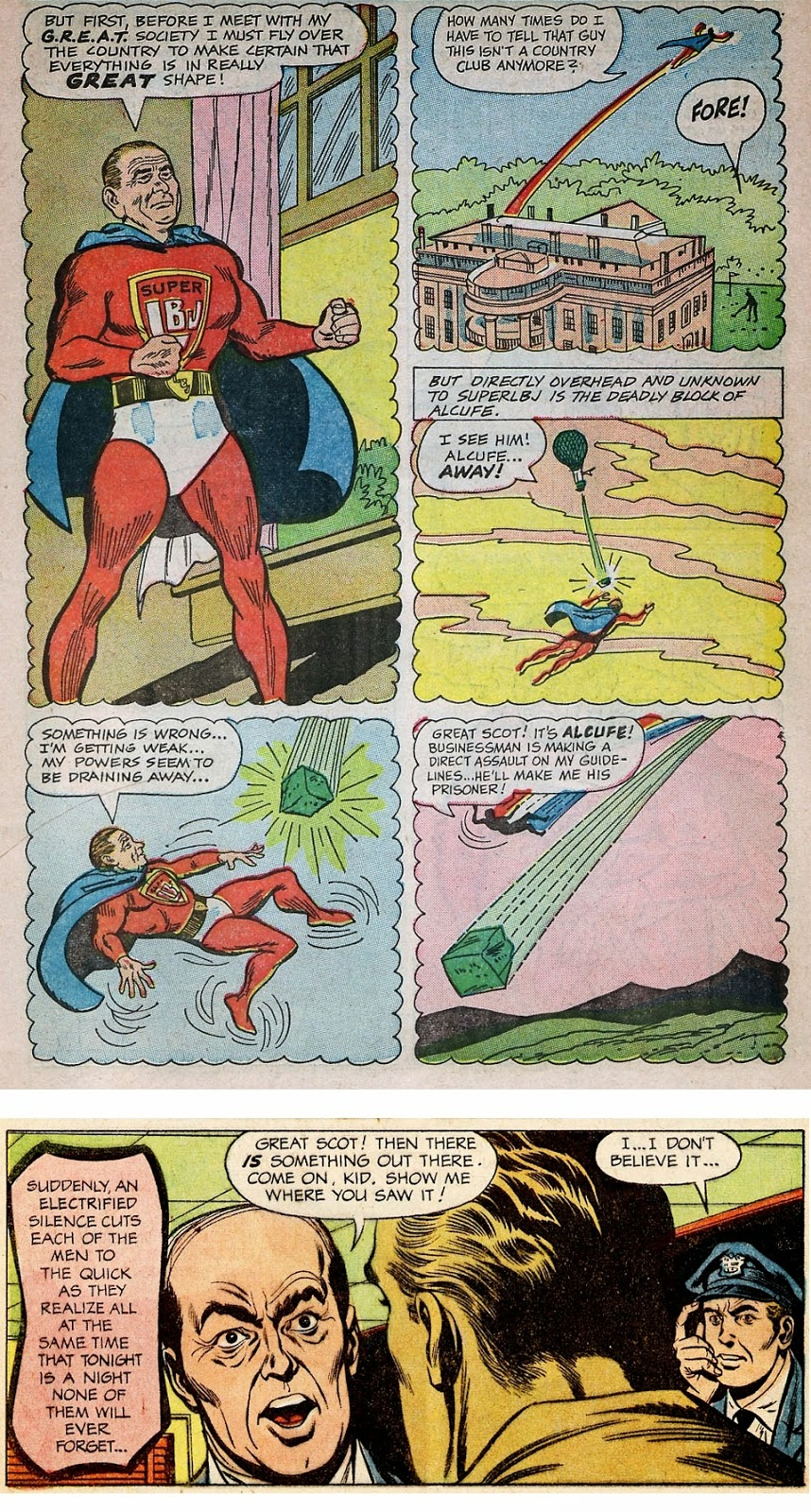 Great Society Comic Book, Flying Saucers 1 'Great Scot'