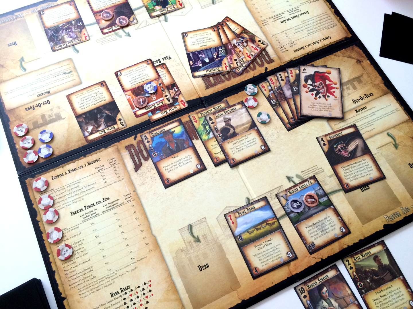 doomtown reloaded review polyhedron collider