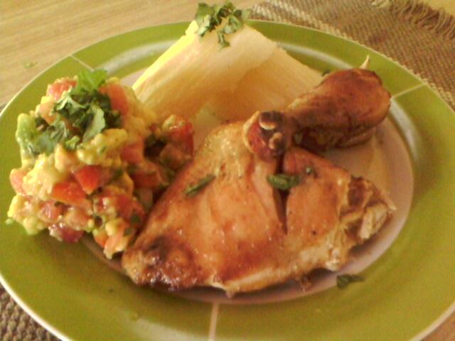 Mi cocina: MI RECETA DE LOS DOMINGOS - POLLO ASADO AL PIMENTON DULCE