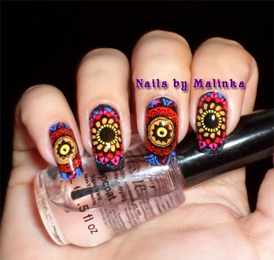 Nails by malinka born pretty plate bp l014 - Geldt desing ...