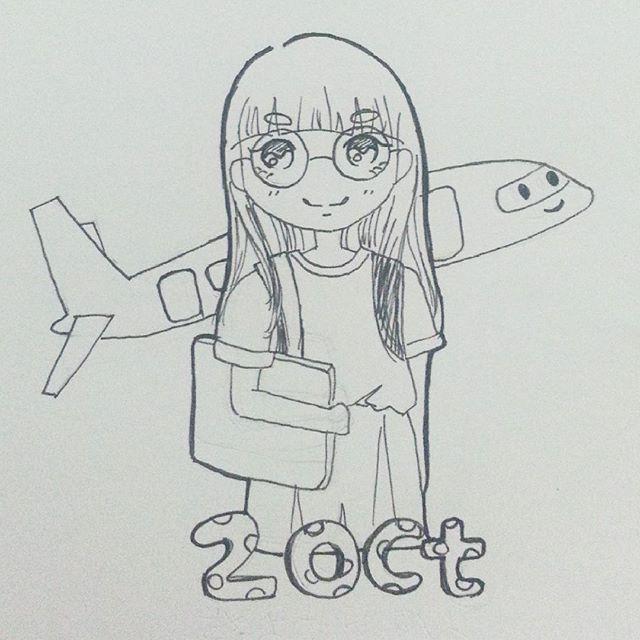 inktober 2015 girl