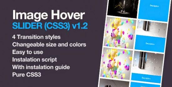 Image & Thumbail Hover Slider