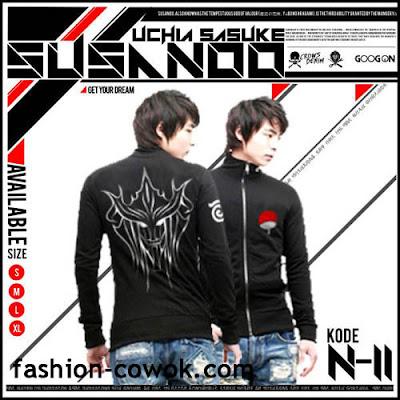 Jaket Anime Naruto - Uchiha Sasuke - SUSANOO