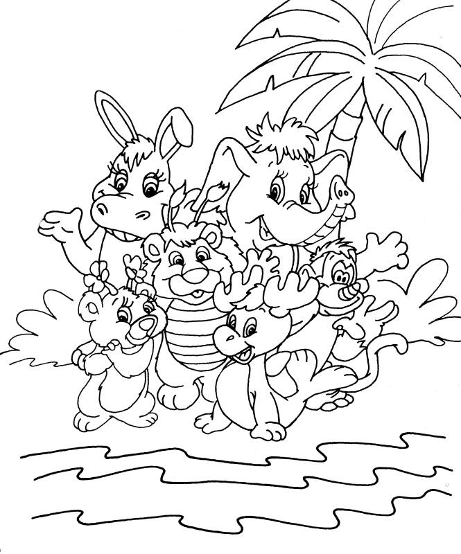 wuzzles coloring pages - photo#17