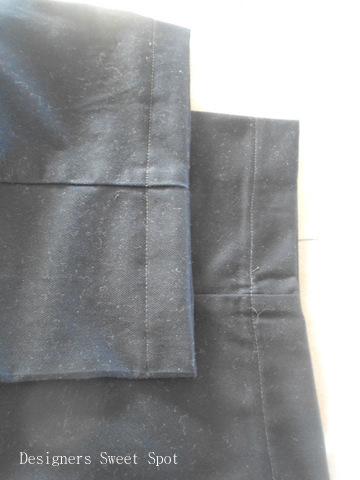 How to Hem Dress Pants finished