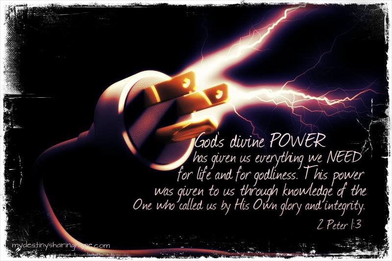 God's divine POWER
