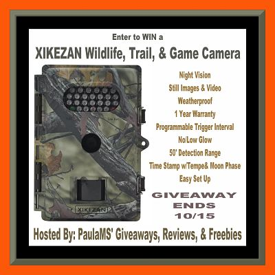 Wild Life Trail Camera Giveaway