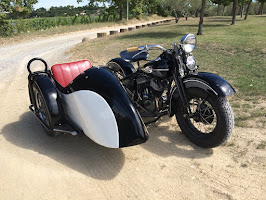 Harley WL 42 Side Car