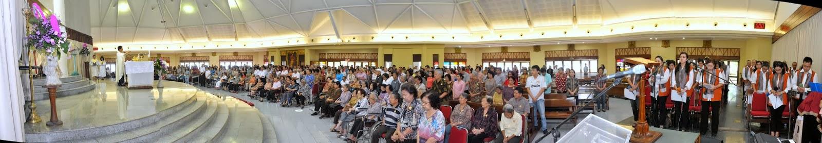 Misa Orang Sakit dan Lansia at MKK 15 Februari 2014