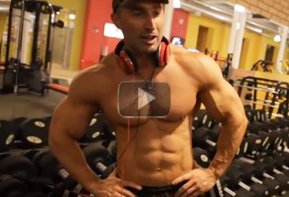 Shoulder Workout With Weights - Alexander Prikhodko