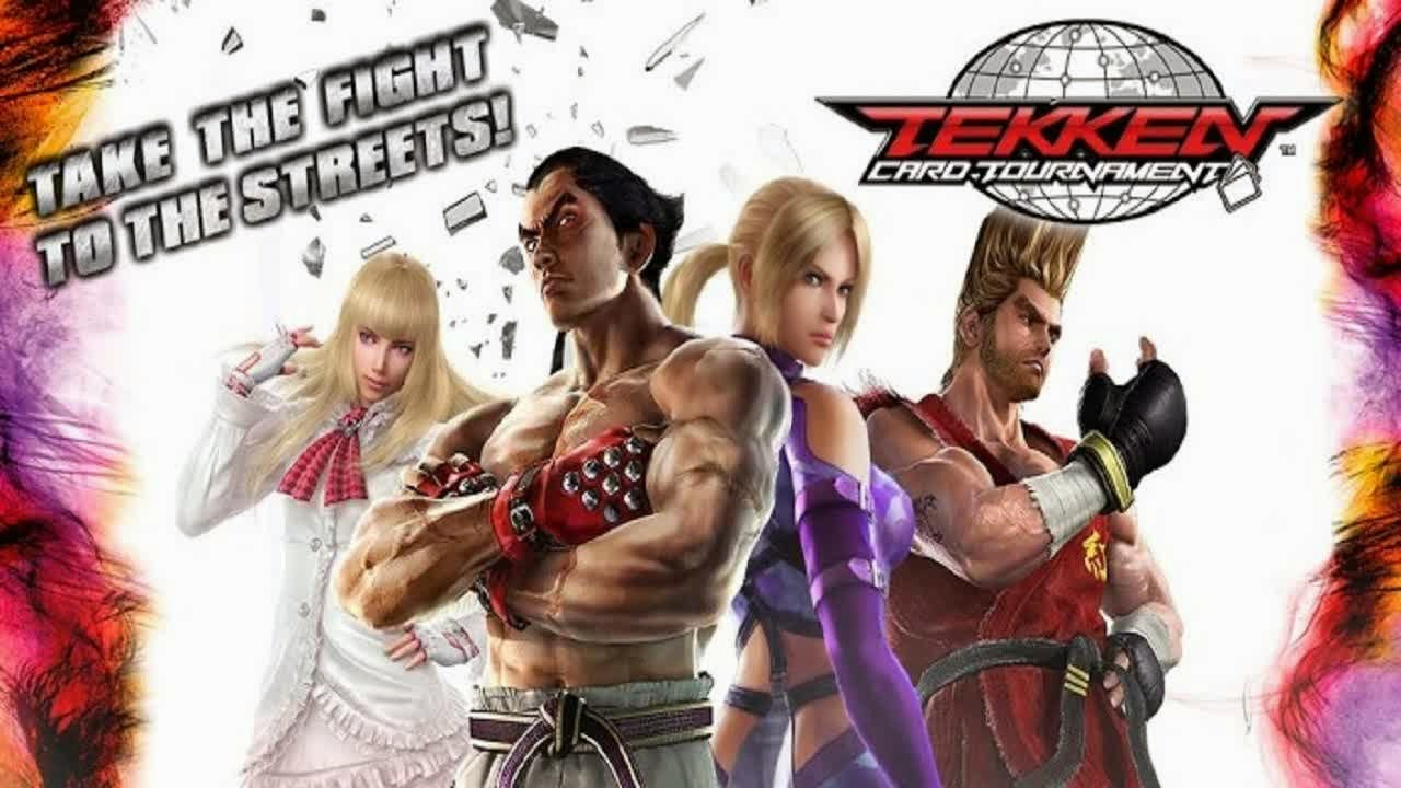 Tekken Card Tournament v 3.104 Apk + Data