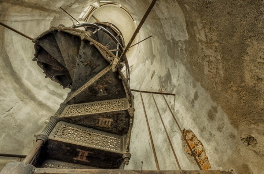 spiral stairs by Christian Richter