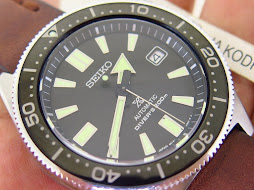 SEIKO DIVER REISSUE 6217 BLACK DIAL - SEIKO SPB051J1 - AUTOMATIC 6R15 - MINT CONDITION