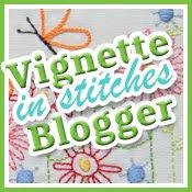 Vignette in stitches Blogger