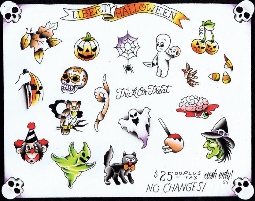 Work Blog of Liberty Tattoo LLC, Berlin, CT: Halloween Specials