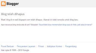 blog di m-wali.blogspot.com telah dihapus