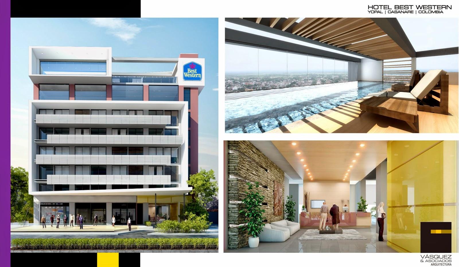 Vasquez y asociados arquitectura ltda hotel best western for Genesis arquitectura y diseno ltda