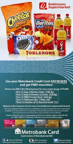 Metrobank Credit Card Promo, credit card promo, Philippines promo, promotion