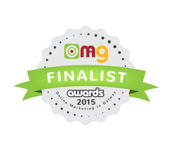 Bec Boop finalist in the Online Marketing in Galway awards 2015 best blog