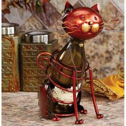 Mother's Day Gift Guide | Cat Wine Bottle Holder